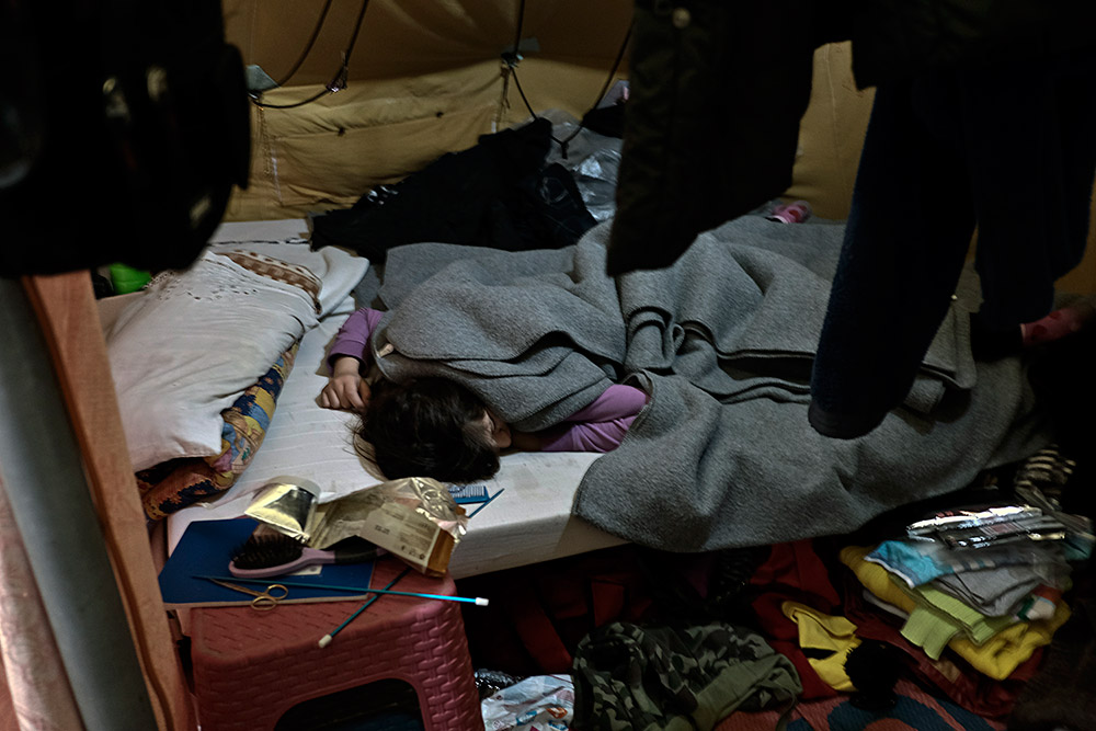 Winter makes the situation of refugees in the camps in northern Greece even more critical