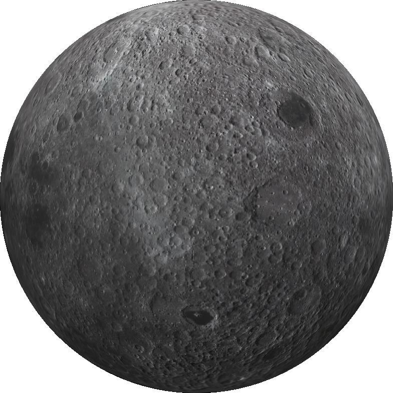 model 3D de la lluna