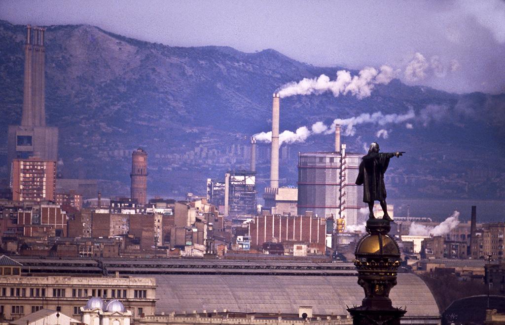 Barcelona Monument a Colom abans