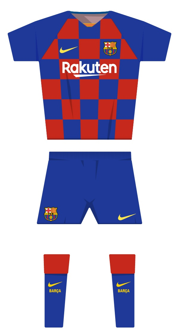 2a1a1ac81 Barça's historic kit since the club was founded