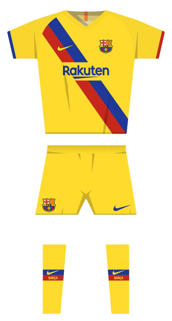 Segona equipació de la temporada 2019/2020