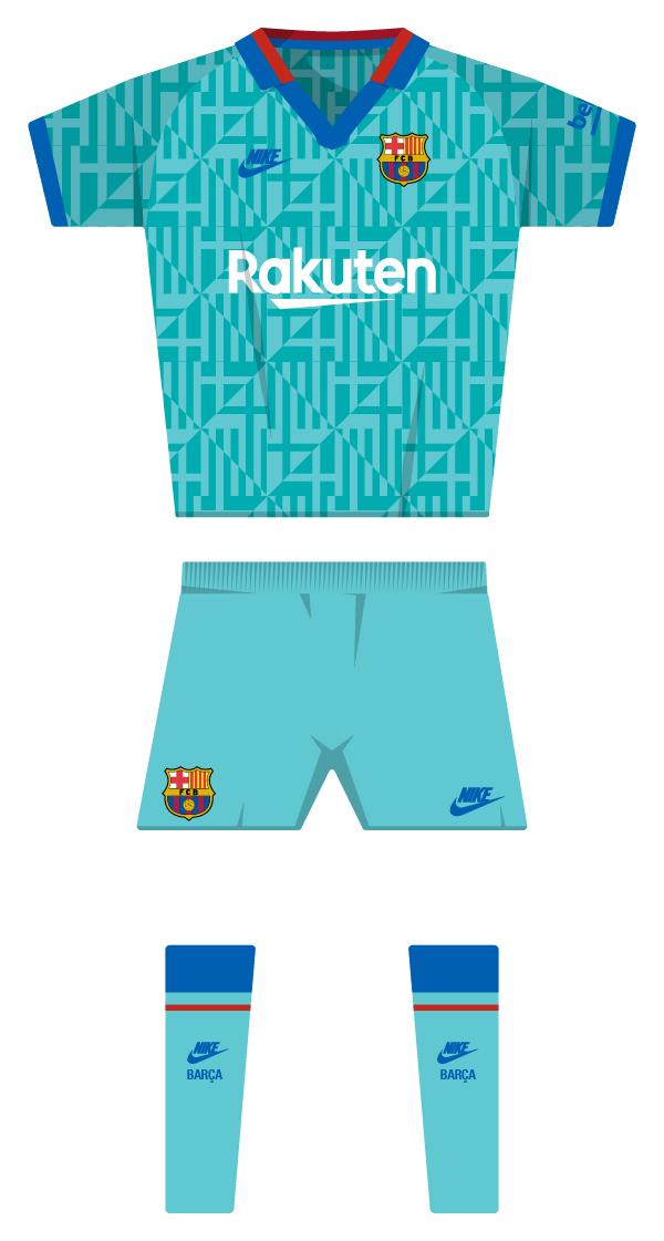 taquigrafía Síntomas Sinfonía  Barça's historic kit since the club was founded