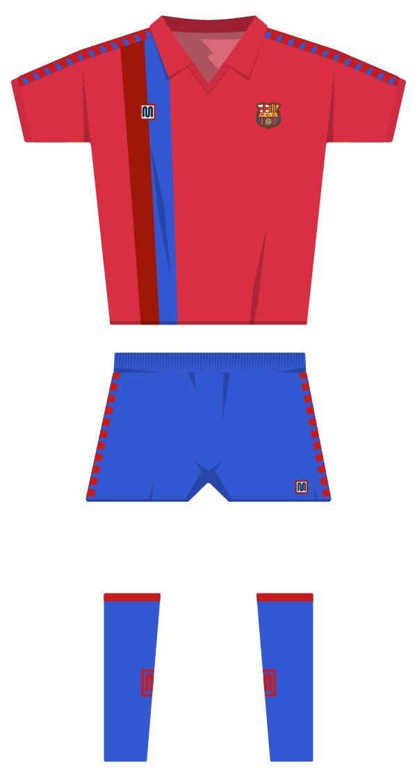 Segona equipació de la temporada 1990/1991 - 1991/1992
