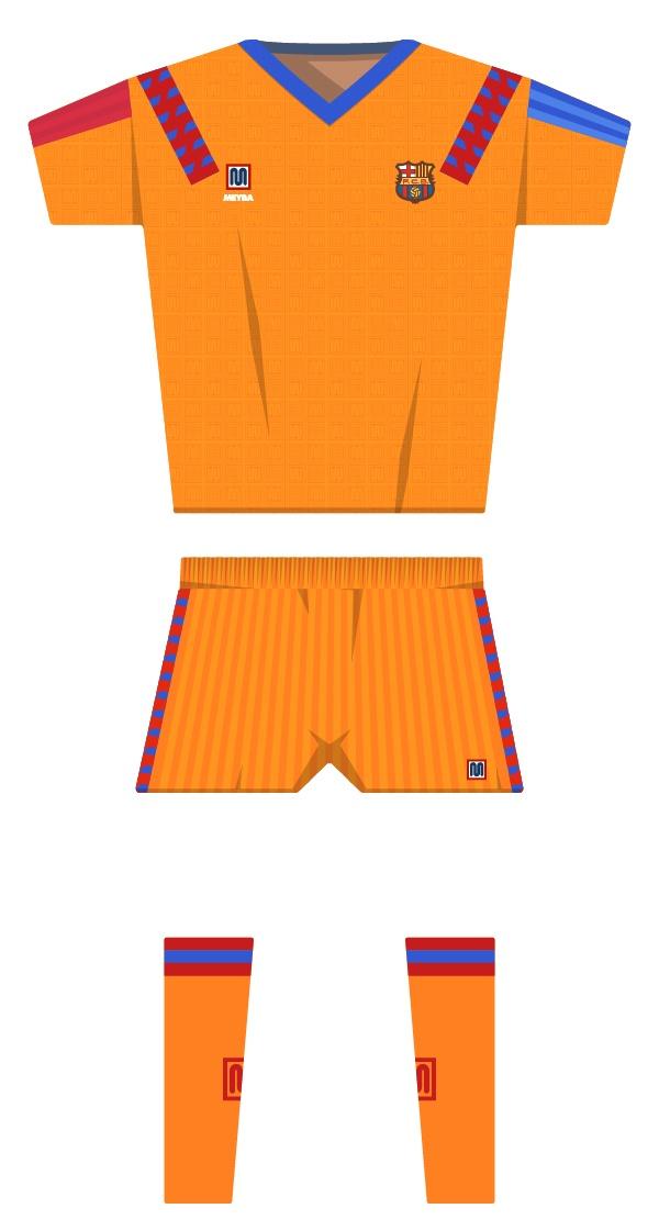 Final de Wembley equipació de la temporada 1990/1991 - 1991/1992