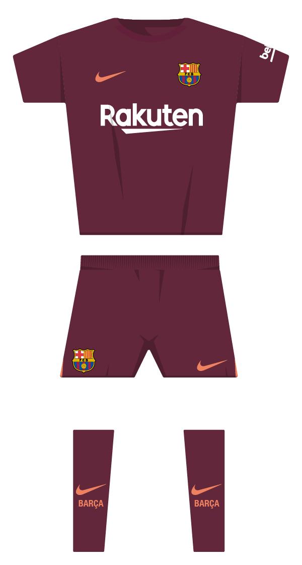 Tercera equipació de la temporada 2017/2018