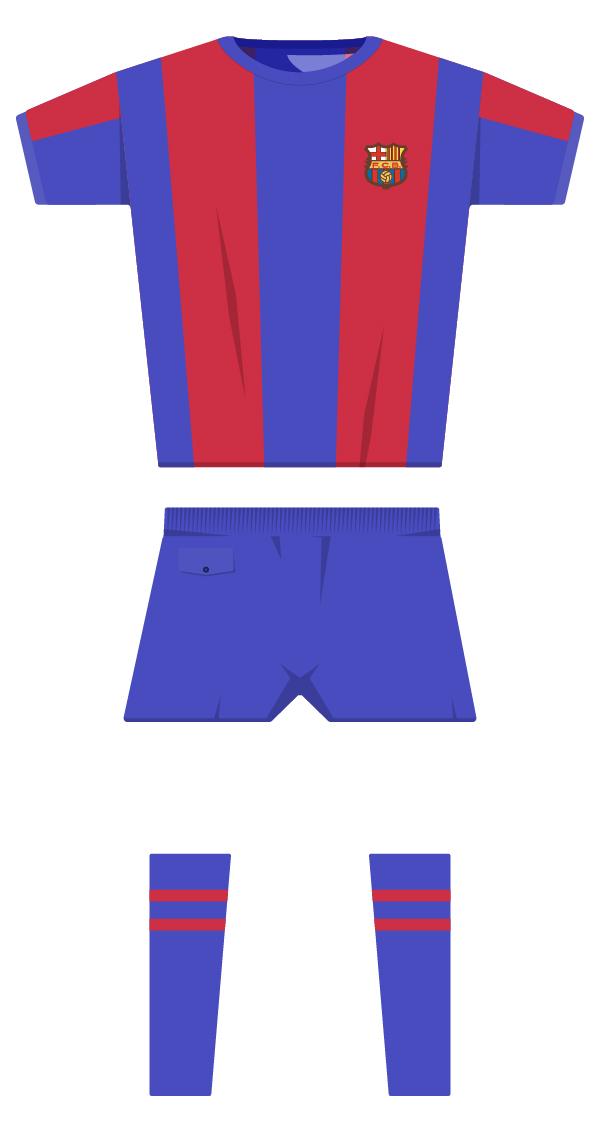 Primera equipació de la temporada 1979/1980