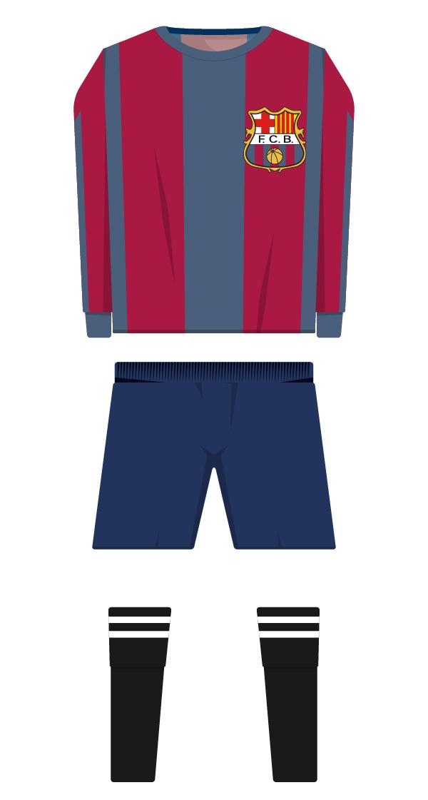 Variant equipació de la temporada 1922/1923 - 1929/1930