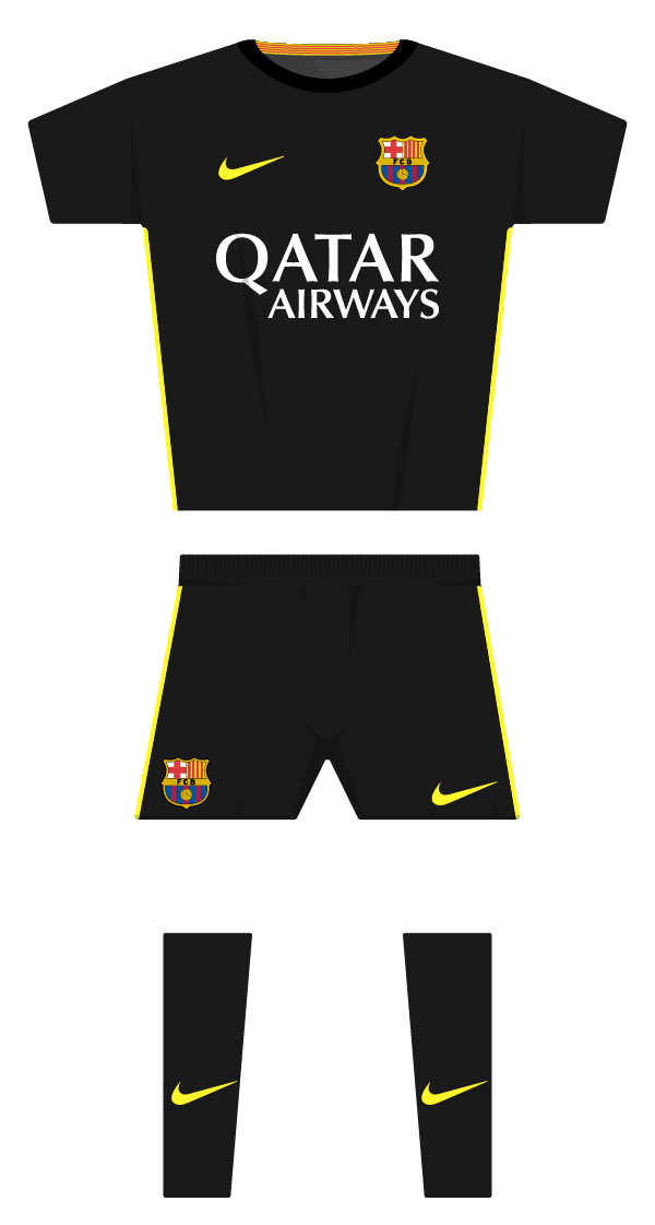 Tercera equipació de la temporada 2013/2014