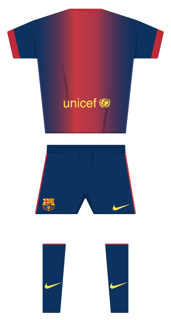 First kit season 2012/2013 back