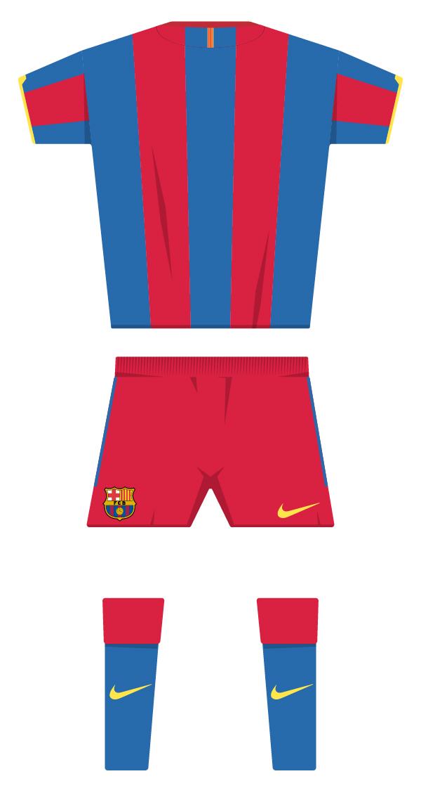 Primera equipació de la temporada 2010/2011 back