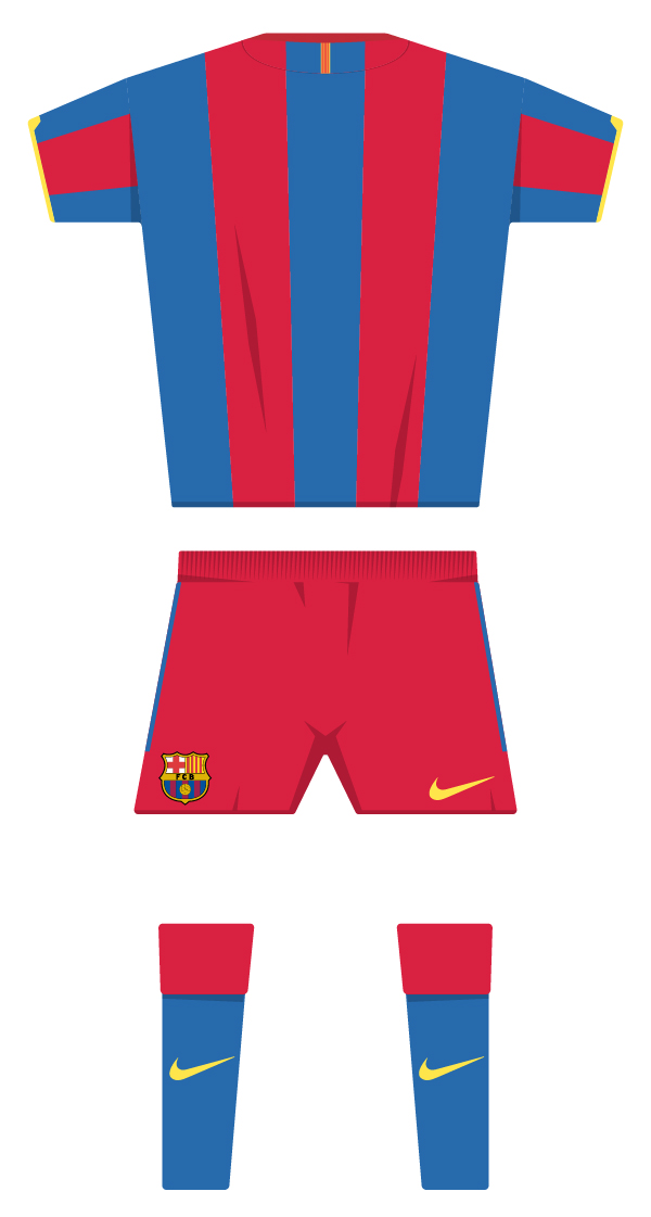 First kit season 2010/2011 back