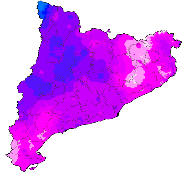 mapa precipitacions acumulades